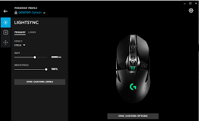 logitech software mouse