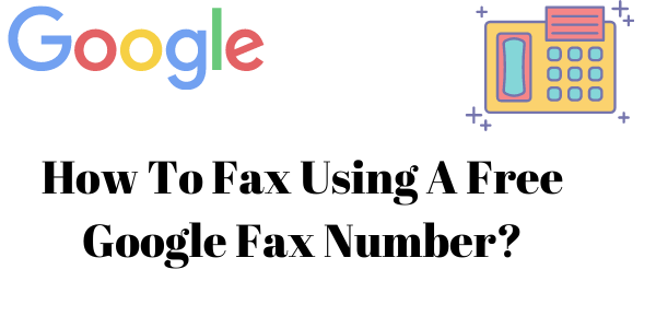 Free Google Fax Number