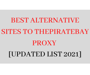 piratebay proxy list